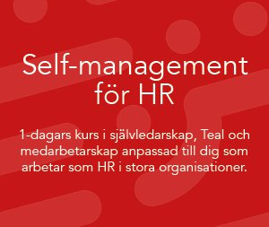 Self management för HR