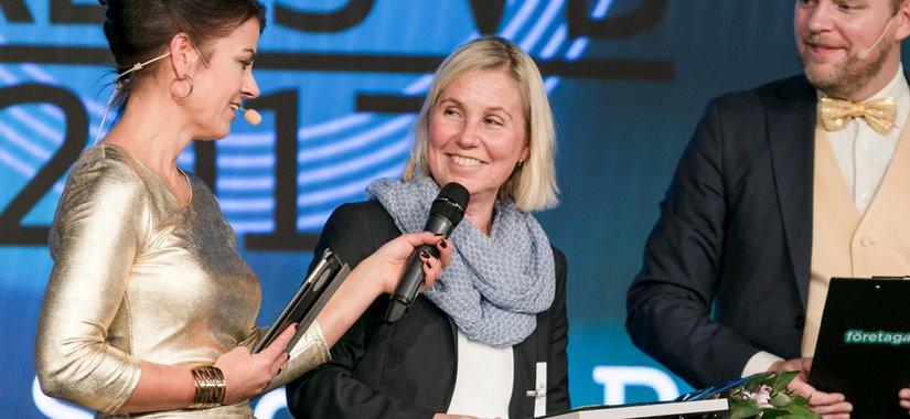 Kom, lyssna och lär av Katarina Sjögren Petrini, Årets VD 2017
