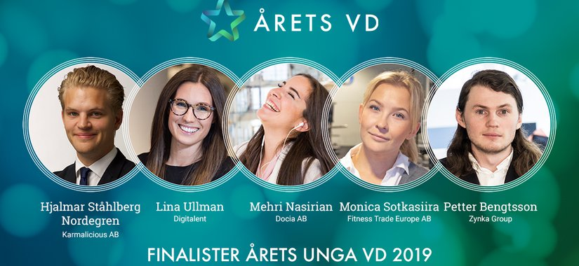 Finalister Arets Unga VD 2019