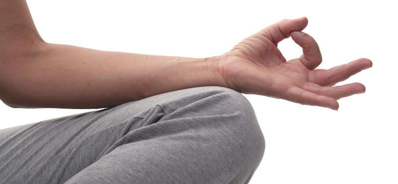 Yoga bort stressen